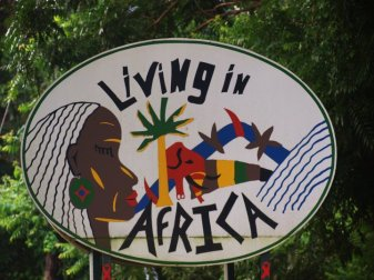 livinf in africa cover pic